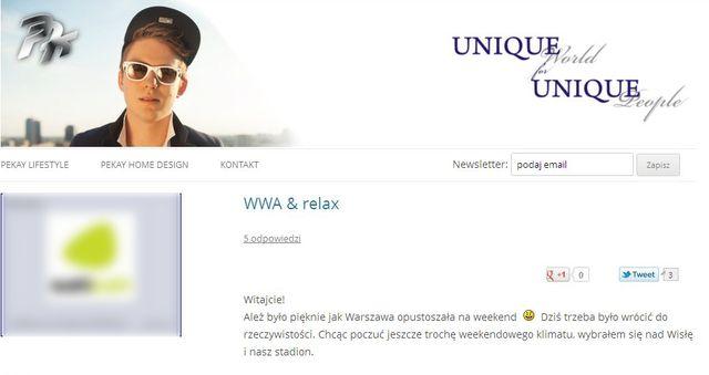 Wróblewska o Pikeju: Młody, pogubiony chłopak...