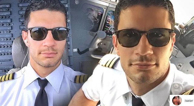 Ten przystojny pilot podbija Instagram (ZDJĘCIA)