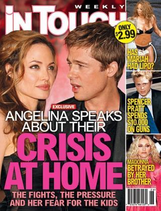 Angelina Jolie nadal bierze?