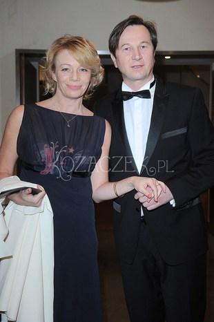 Piotr Cyrwus z żoną na gali magazynu Pani (FOTO)