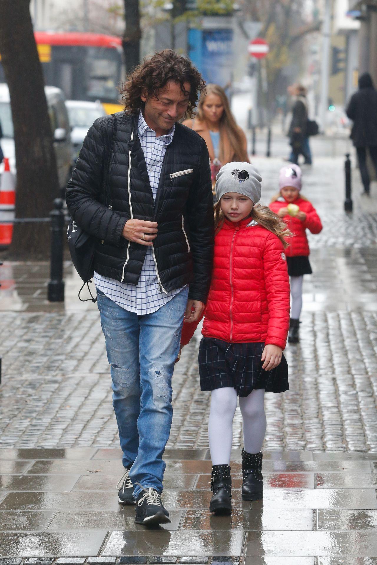 Agata i Piotr Rubik z córeczkami w DDTVN: