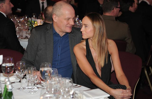 Piotr Zelt nie szcz�dzi� czu�o�ci nowej partnerce (FOTO)