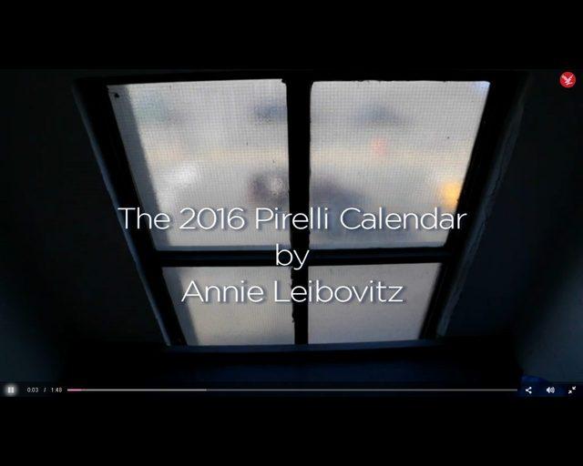Pirelli 2016 - to będzie zupełnie inny kalendarz [VIDEO]