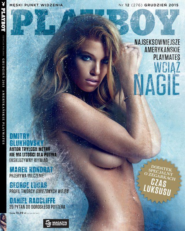 Grudniowy Playboy wciąż z nagimi playmates
