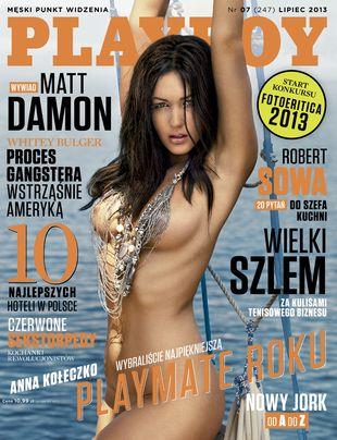 Playmate Roku – Anna Kołeczko w lipcowym Playboyu (FOTO)