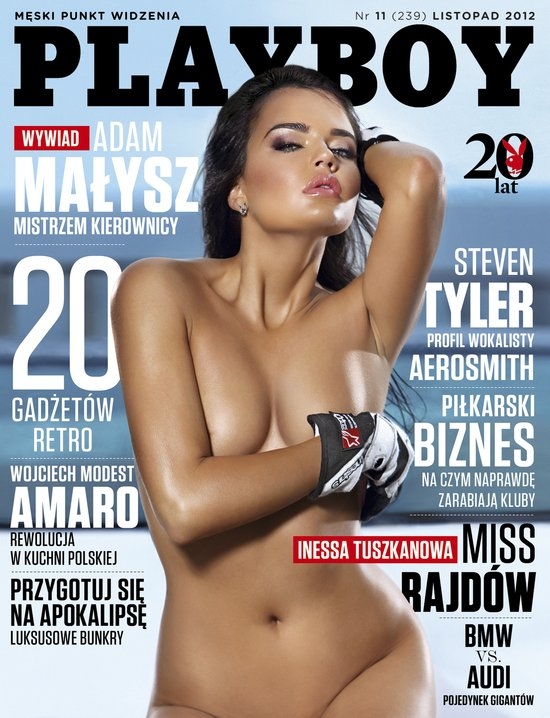 W nowym Playboyu: Jak James Bond dba o swe ciało (FOTO)