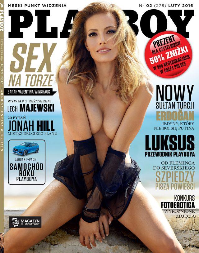 Sarah Valentina Winkhaus w lutowym Playboyu (FOTO)