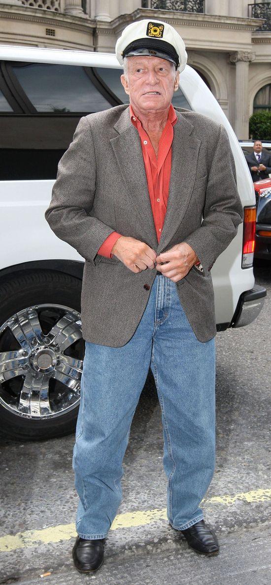 Hugh Hefner przeleciał 1000 kobiet!