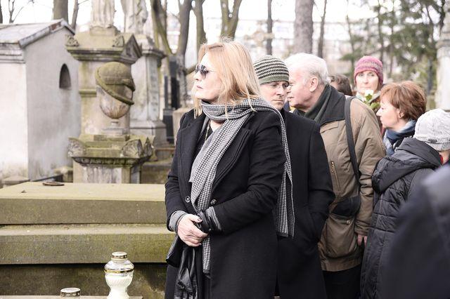 Rodzina i przyjaciele pożegnali Wojciecha Młynarskiego (ZDJĘCIA)