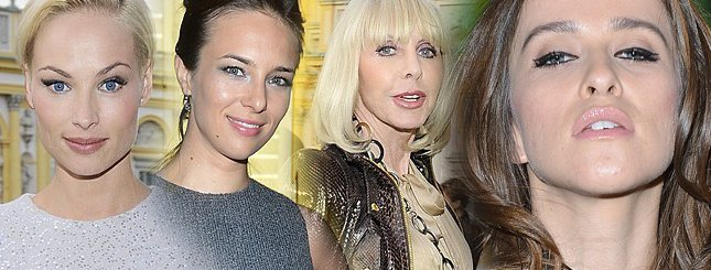 Celebrytki na pokazie mody Joanny Klimas (FOTO)