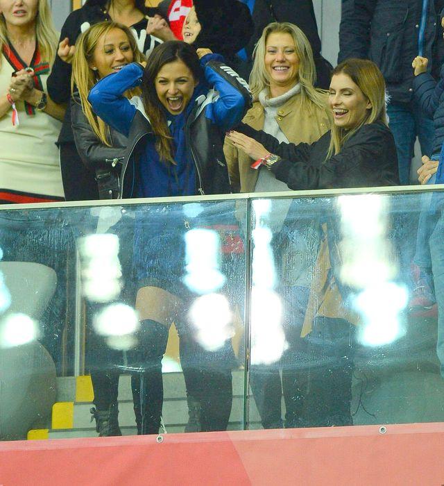 Tak Anna Lewandowska cieszyła się z awansu polskiej drużyny (ZDJĘCIA)