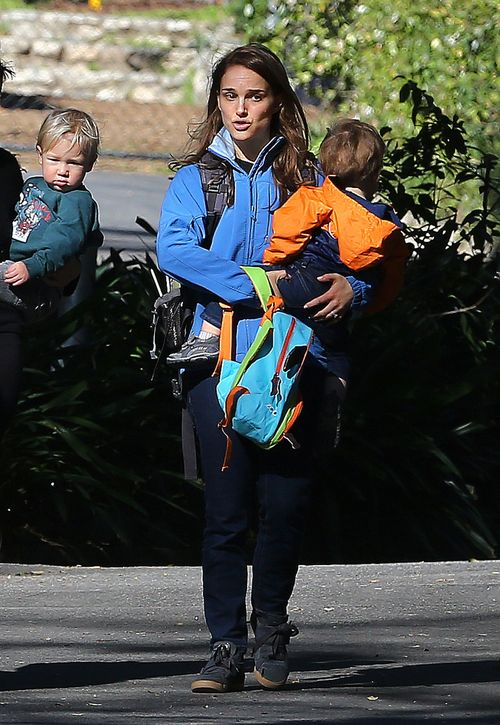 Natalie Portman z synem Alephem (FOTO)