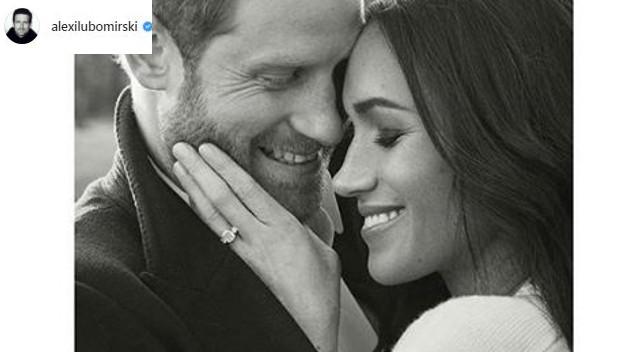 Meghan Markle i książę Harry mają swoje oficjalne portrety zaręczynowe