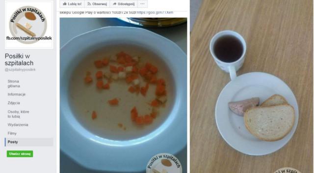 Pacjent wrzucił do sieci zdjęcie szpitalnego posiłku, nikt mu nie wierzy, że…