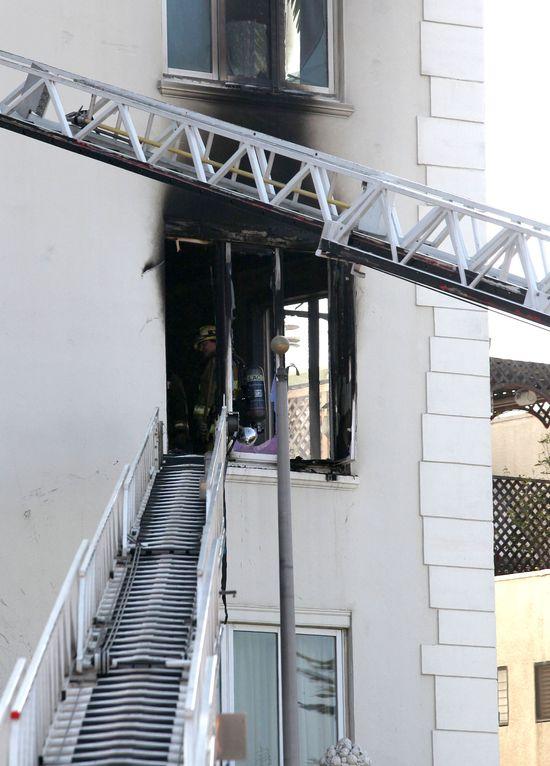 W mieszkaniu Ashley Greene wybuchł pożar!