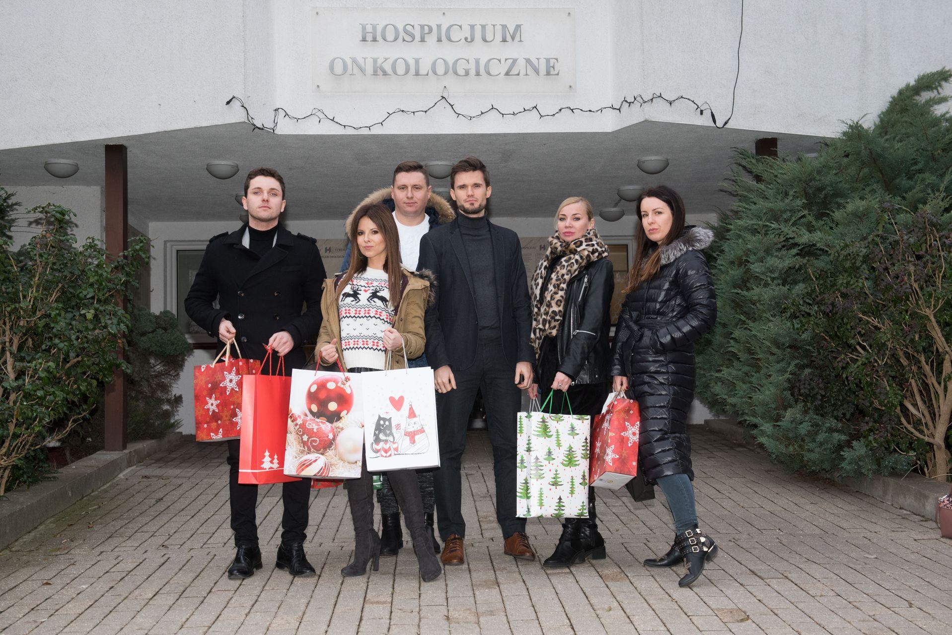 Gwiazdy przywiozły dary do Hospicjum - my też możemy pomóc