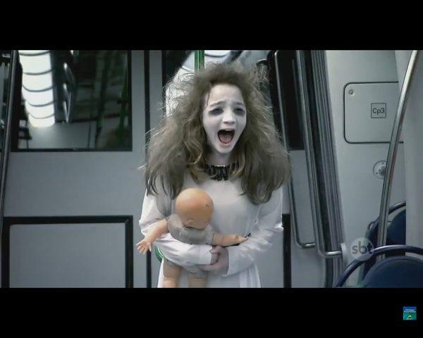 Koszmarny wkręt w metrze [VIDEO]