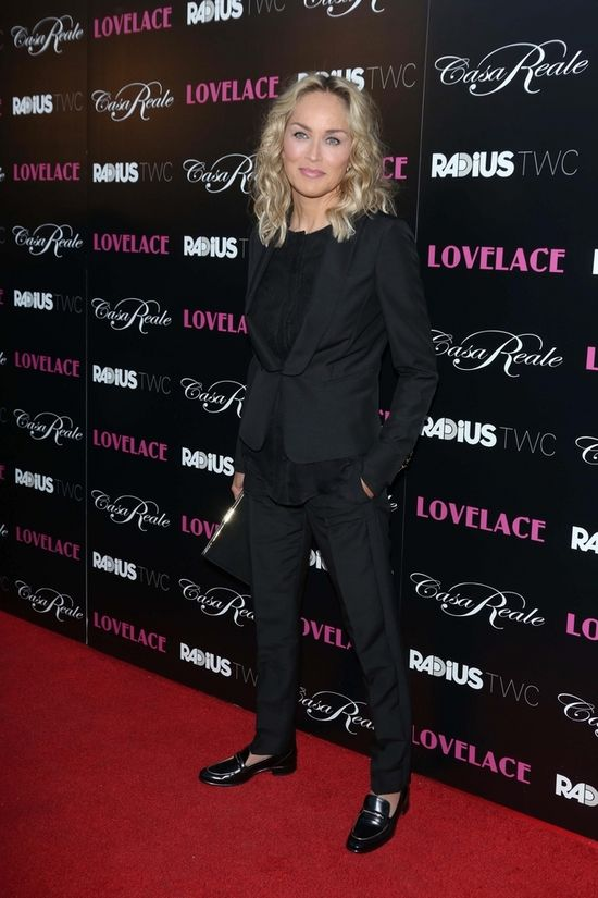 Gwiazdy w Las Vegas na premierze Lovelace