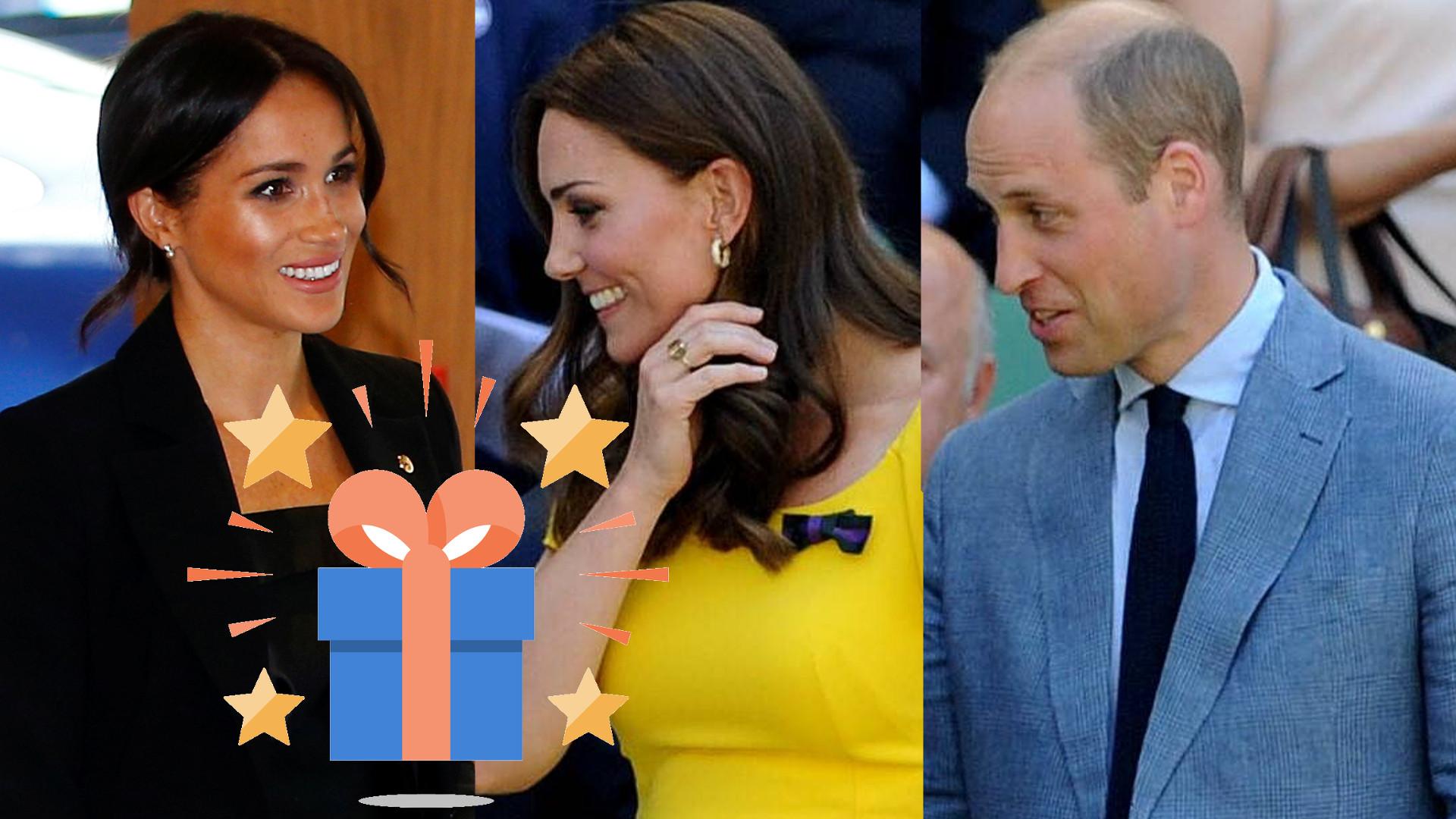 Rodzina królewska wręczy sobie NIETYPOWE prezenty świąteczne