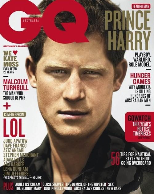 Książę Harry na okładce GQ (FOTO)