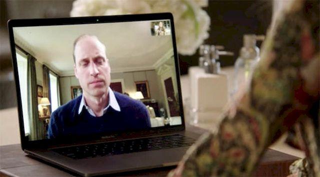 Rozmowa Lady Gagi i Księcia Williama może wywołać łzy (VIDEO)