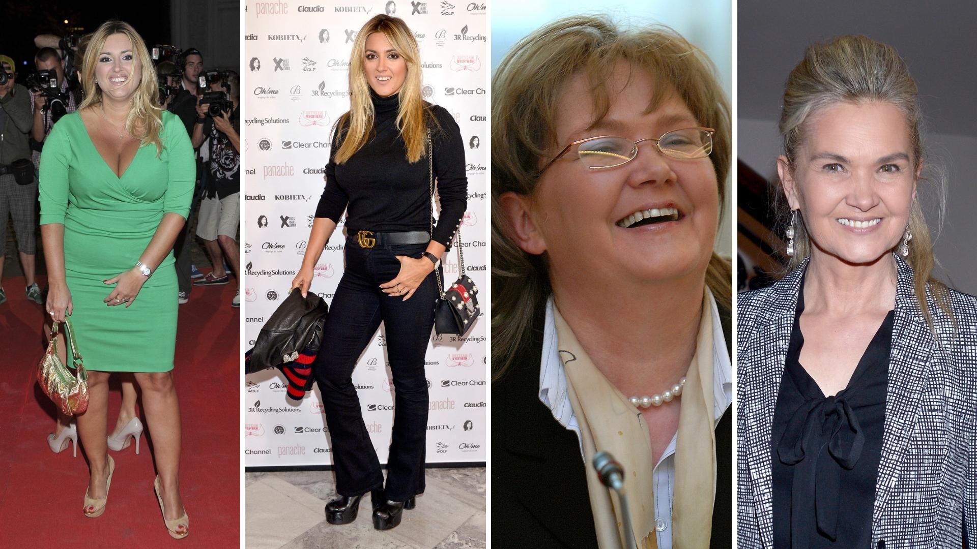 Te polskie gwiazdy EKSTREMALNIE schudły! Zobaczcie je przed i po przemianie!