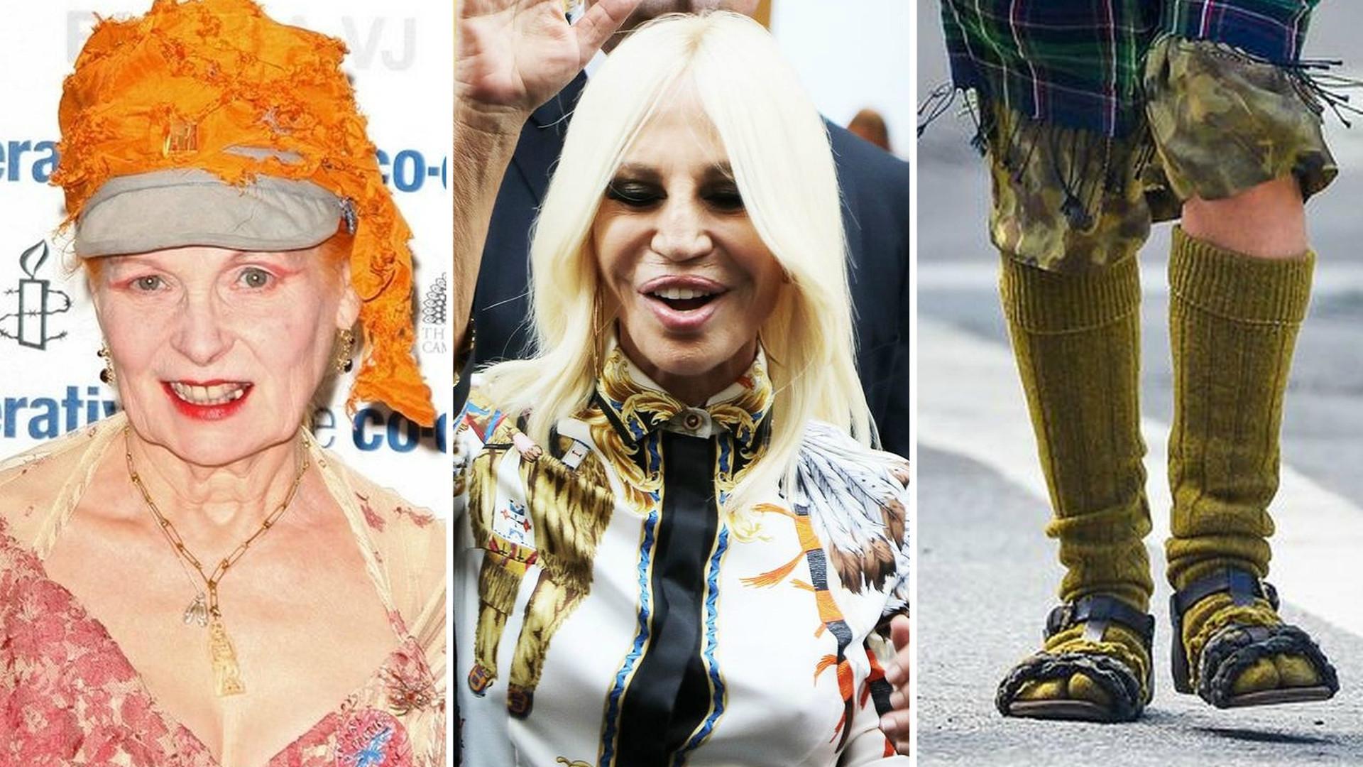 Sławni projektanci – kreują modę, a niektórzy sami wyglądają ŹLE