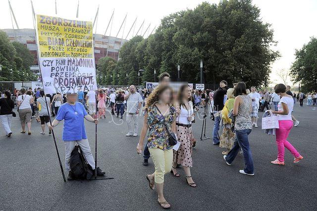 Celebryci na koncercie Madonny (FOTO)