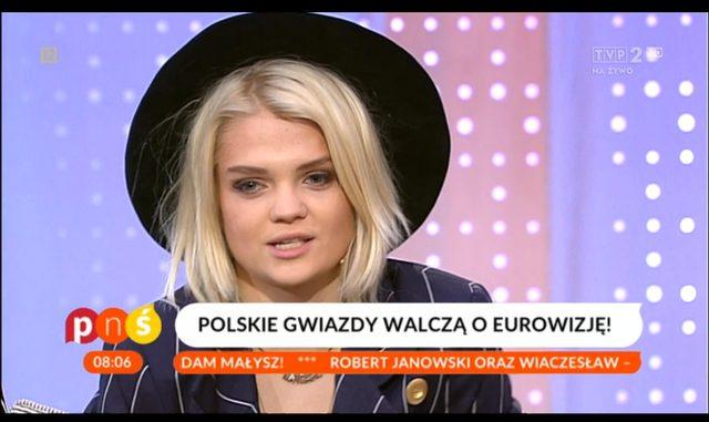 Dwie kandydatki na Eurowizj� przysz�y podobnie ubrane