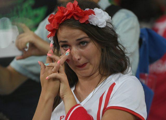 Łzy Polaków po przegranej z Portugalią (FOTO)