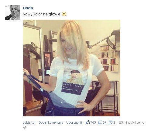 Doda zmieniła fryzurę! (FOTO)