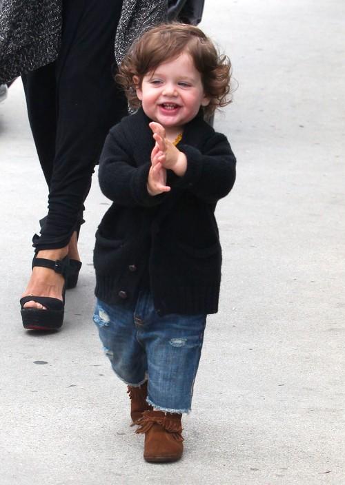 Rachel Zoe musi biegać za synkiem w szpilkach (FOTO)