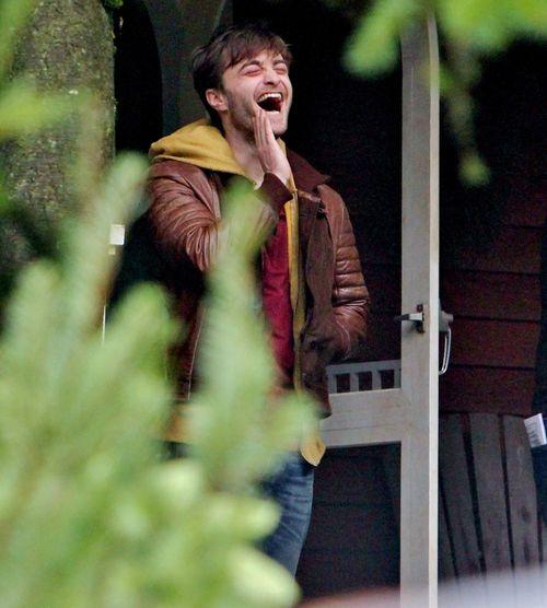 Daniel Radcliffe z przyprawionymi rogami