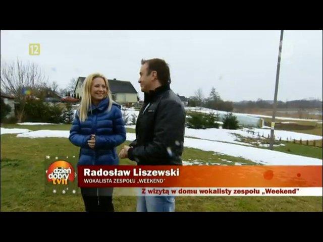 Radosław Liszewski pokazał swoją rodzinę i dom