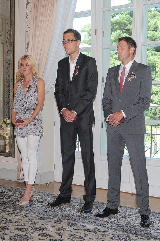 Janowicz, Kubot i Radwańska u prezydenta (FOTO)