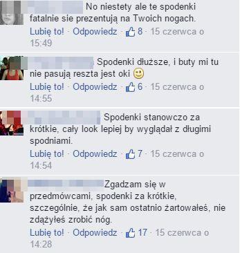 Fanki szybko wytknęły błąd Rafałowi Maślakowi (FB)