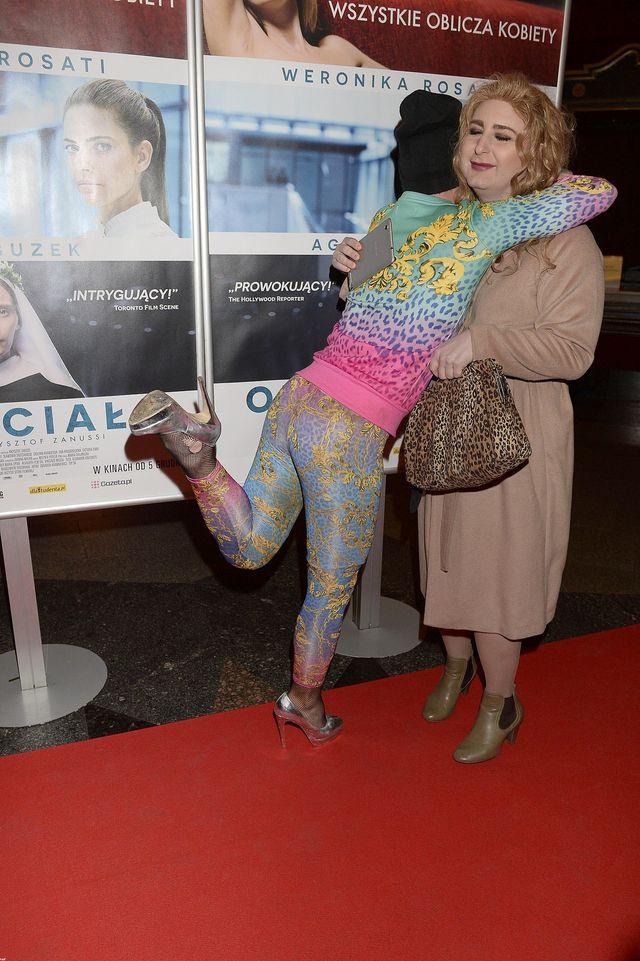 Nina Kukawska vel Rafalala z Dżagą w kinie (FOTO)
