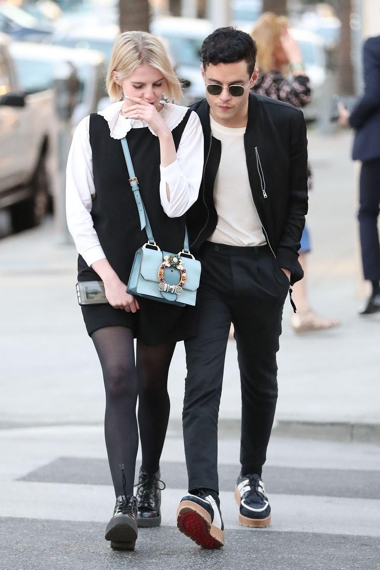 Rami Malek potwierdza związek z Lucy Bonton - poznali się na planie filmu