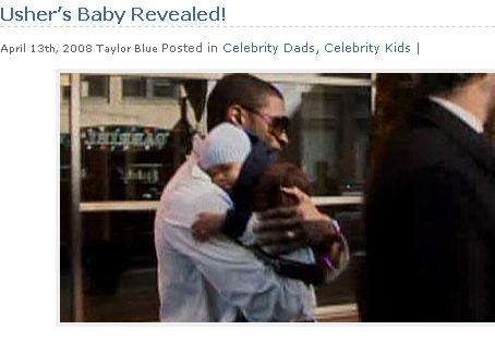 Zobacz dziecko Ushera
