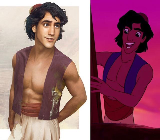 Jak wyglądaliby książęta Disneya, gdyby byli prawdziwi?