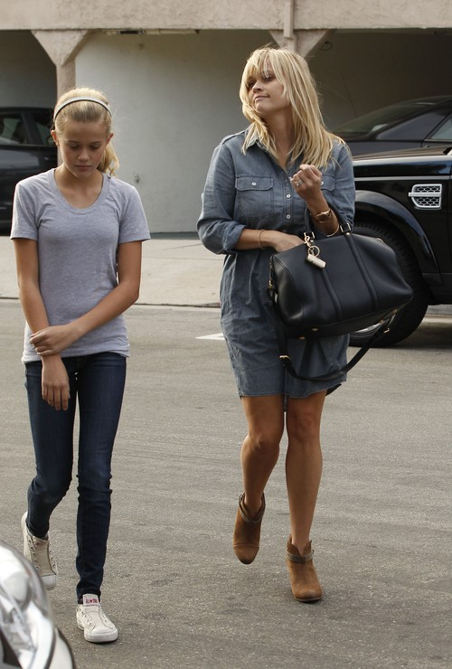 Córka Reese Witherspoon to wykapana mama (FOTO)