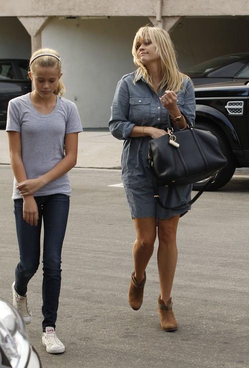 Córka Reese Witherspoon to wykapana mama (FOTO)