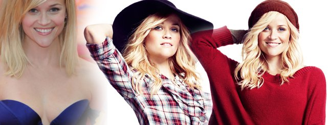 Reese Witherspoon w roli modelki (FOTO)