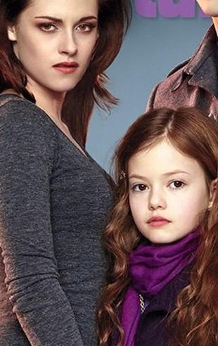 Renesmee Cullen (Mackenzie Foy) już trafiła na okładkę(FOTO)