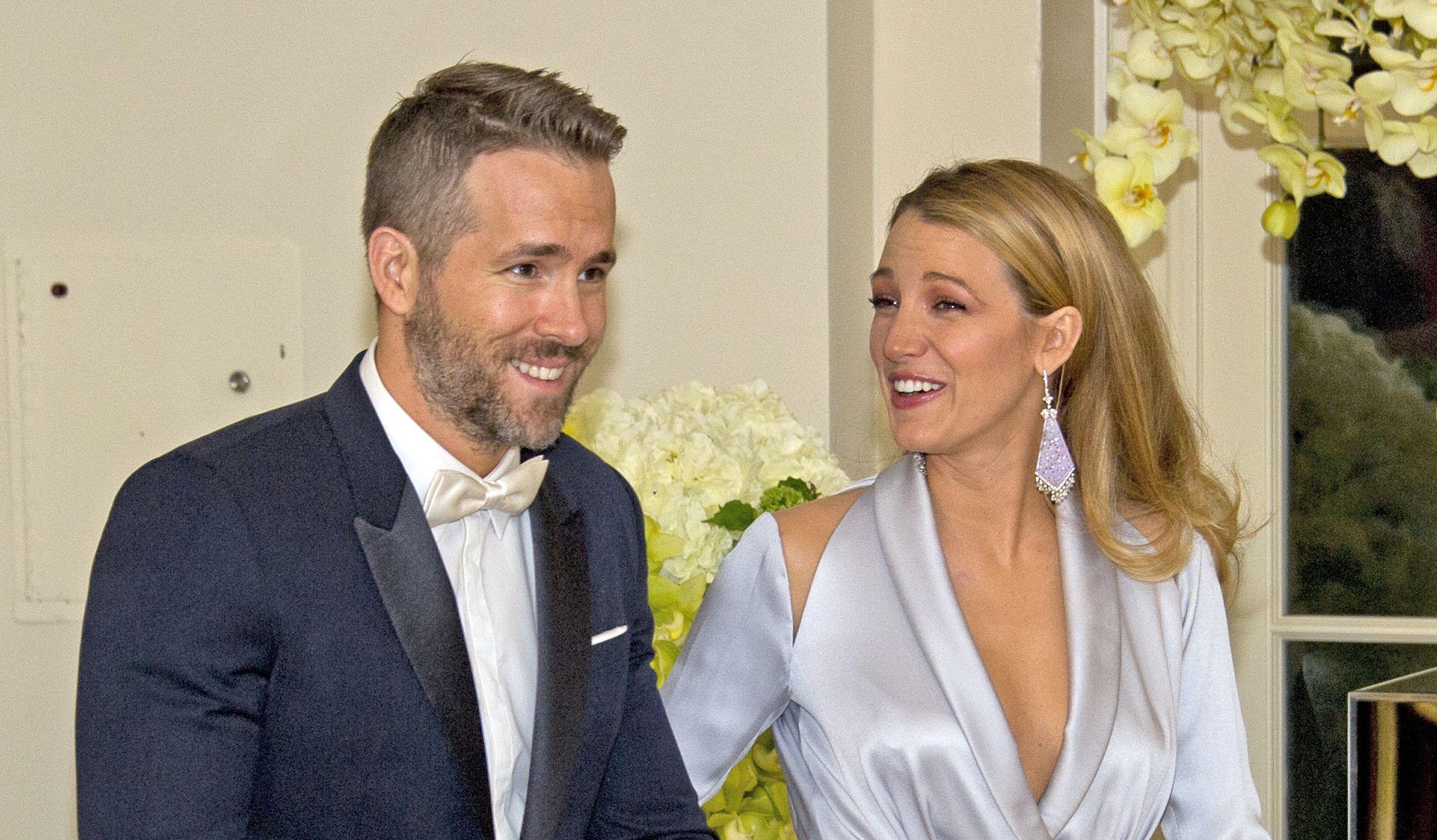 Pierwsze zdanie córki Blake Lively i Reynoldsa było… DZIWNE?
