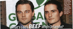 DiCaprio nie szanuje Blooma