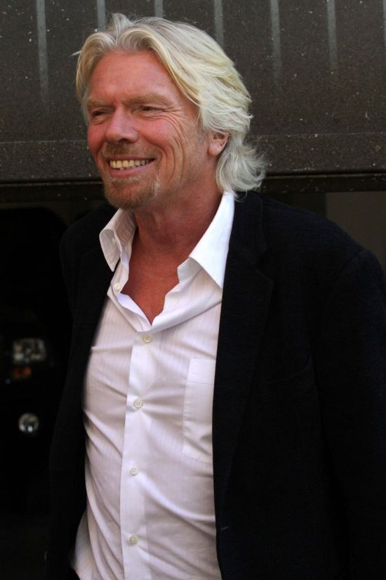 Richard Branson oszalał (FOTO)