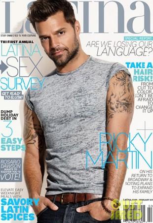 Ricky Martin chce mieć w tym roku córeczkę