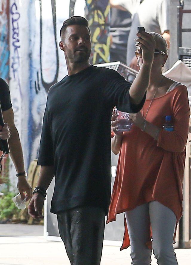Ricky Martin na planie filmu (FOTO)