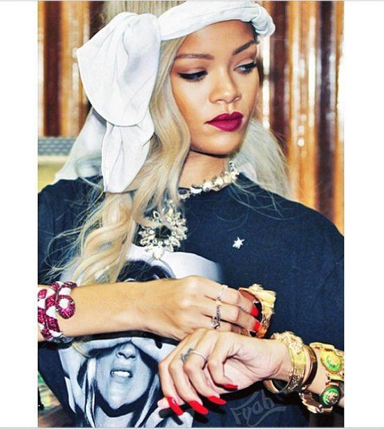 Rihanna nadal kocha Chrisa Browna